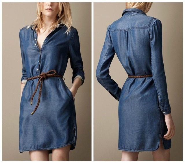 Aliexpress Vêtement Jean Femme Robe En qVpzMUS