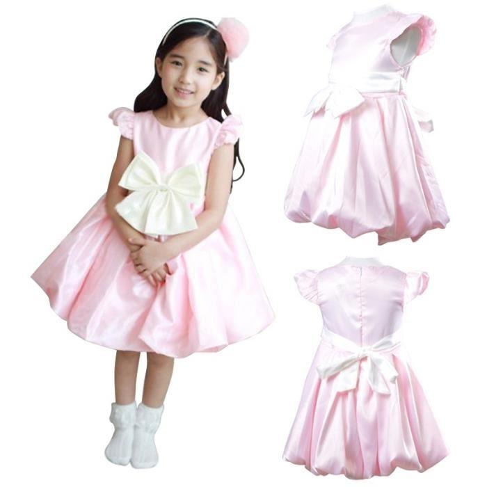 21b755b22c60d Robe rose fille 5 ans - Vêtement Aliexpress