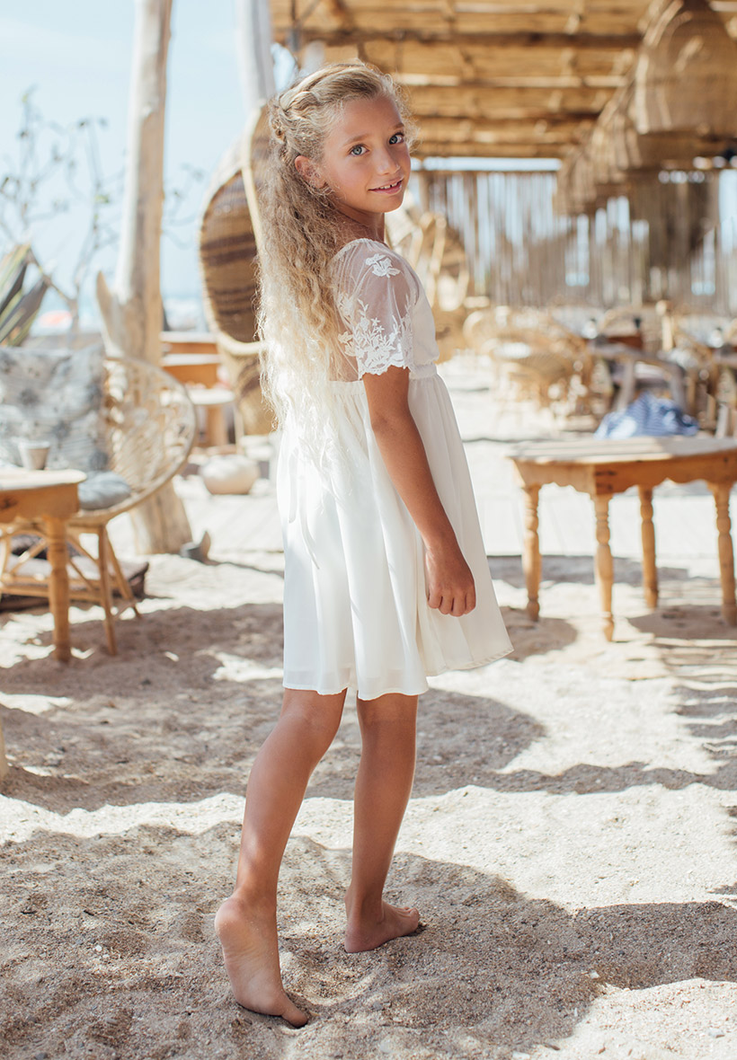 c92800e3fea Robe dentelle fille 10 ans - Vêtement Aliexpress
