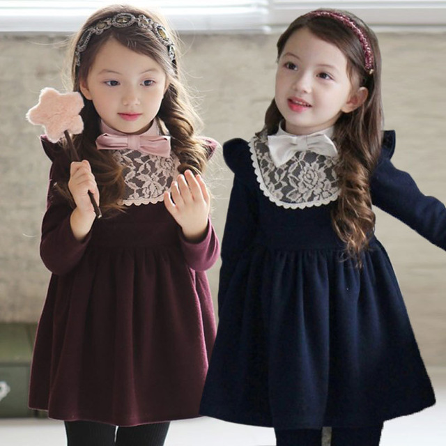 f62bc5476d696 Robe fille 2 ans hiver - Vêtement Aliexpress
