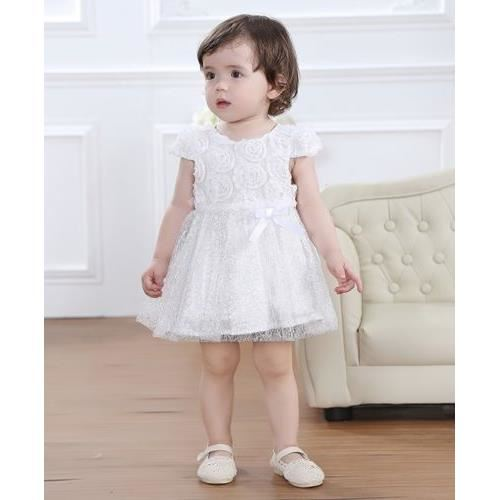 e2a7f0681ab02 Robe ceremonie fille 9 mois - Vêtement Aliexpress