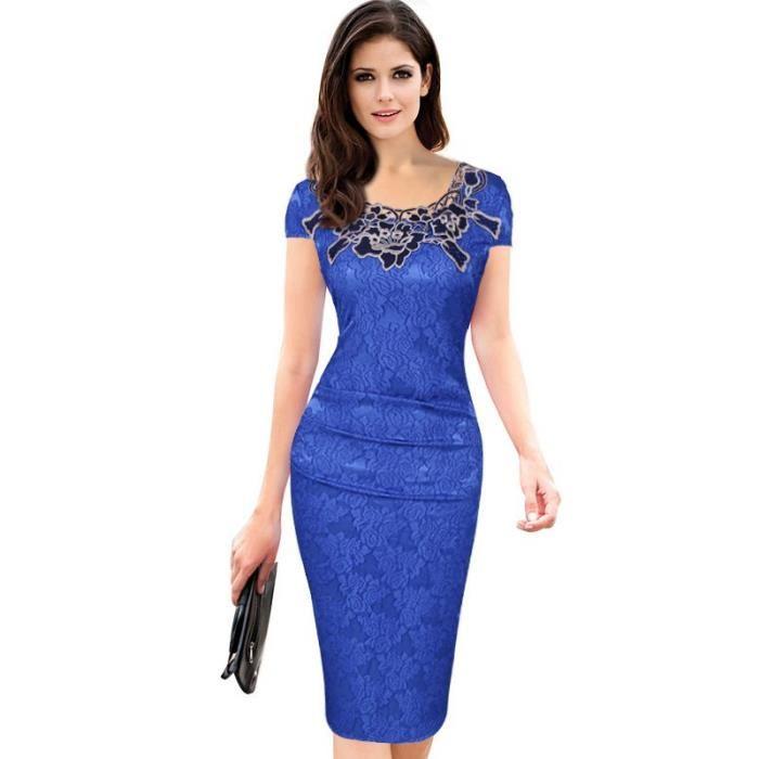 4f27db027b Aliexpress Femme Vêtement Bleu Robe Ceremonie Jfkt1cl H9eWIDEY2