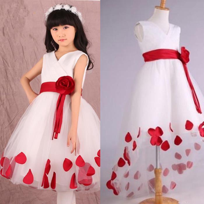 1dbe2a5449113 Robe fille 6 ans mariage - Vêtement Aliexpress