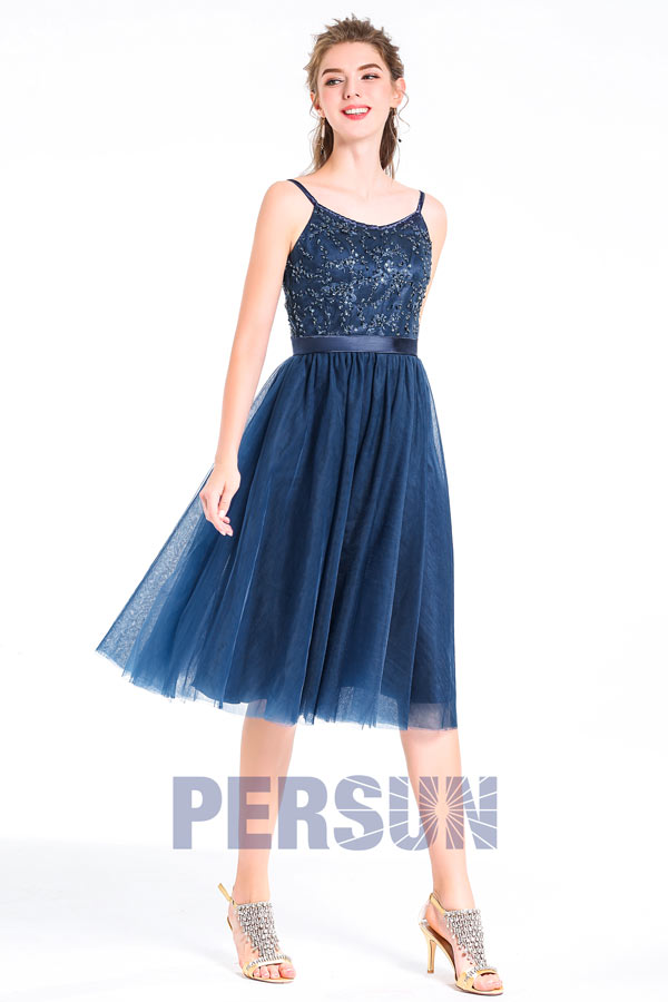 avant-garde de l'époque pas cher enfant Cocktail Bleu Bleu Robe Aliexpress Cocktail Vêtement ...